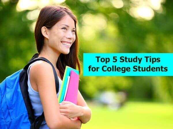 Top 5 Study Tips for College Students