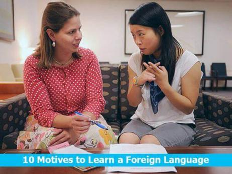 10 Motives to Learn a Foreign Language