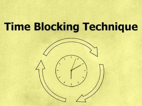 Time Blocking Technique